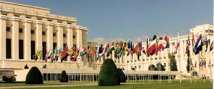Palais des Nations, sede dell'ONU a Ginevra