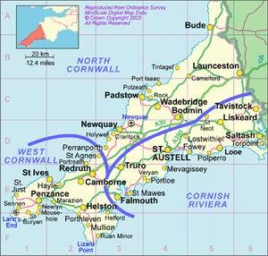 Cartina Cornovaglia.Minoranze Linguistiche Del Regno Unito Dall Europa E Dal Mondo
